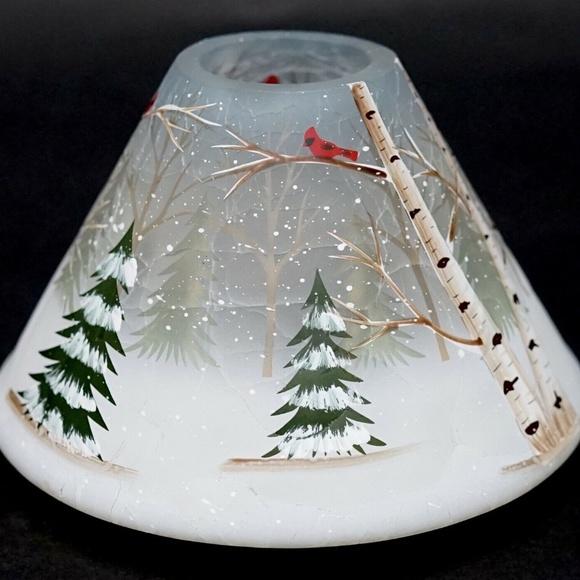 Yankee Candle Holiday Pine & Birch Jar Shade